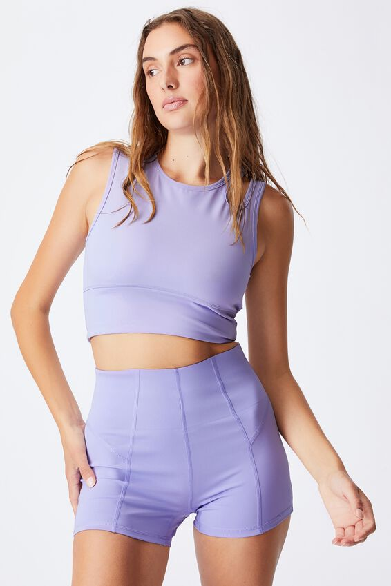 Ultimate Cut Out Vestlette, CHALKY LAVENDER