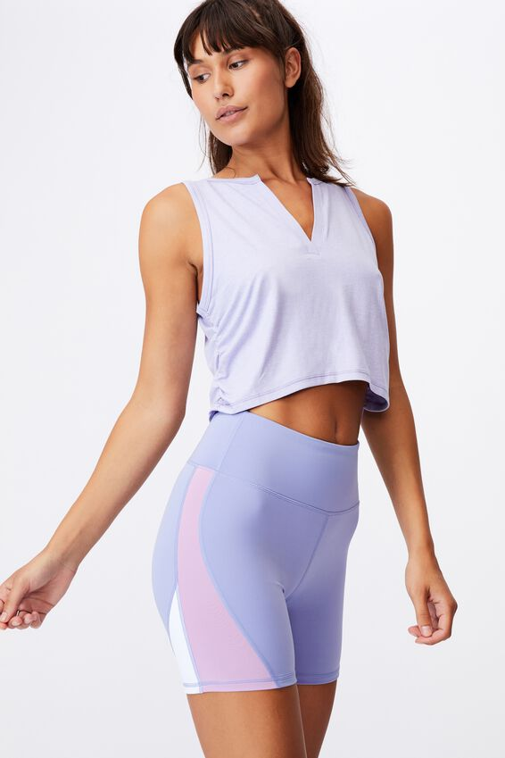 All Rounder Bike Short, PERIWINKLE