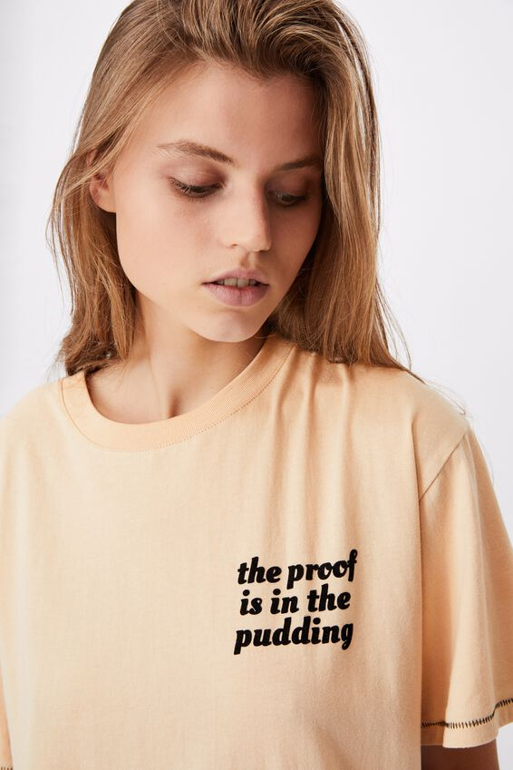 90S Bed T Shirt, PROOF IN THE PUDDING