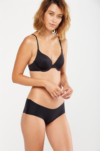 Everyday T Shirt Bra, BLACK