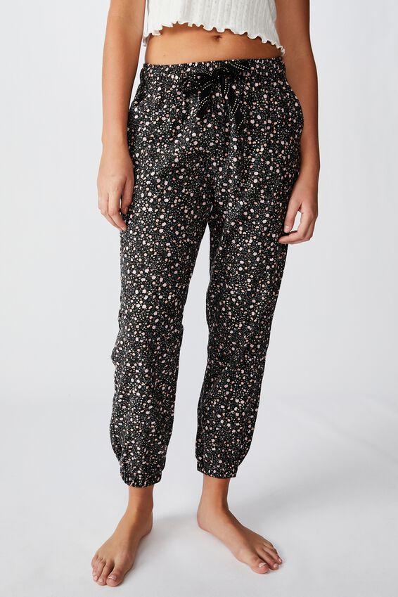 Flannel Sleep Pant, FIELD DAISY/BLACK