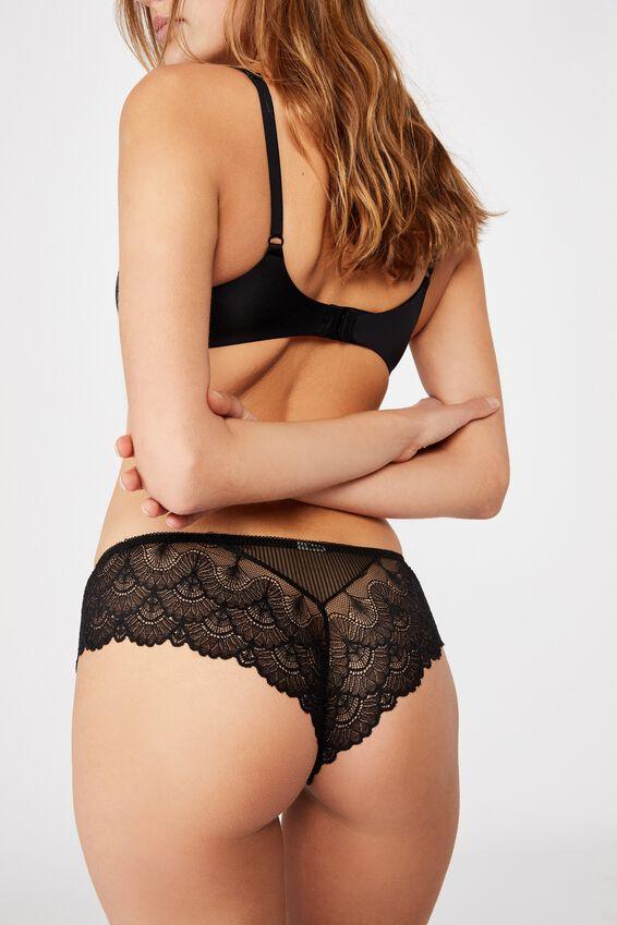 Abby Bikini Brief, BLACK