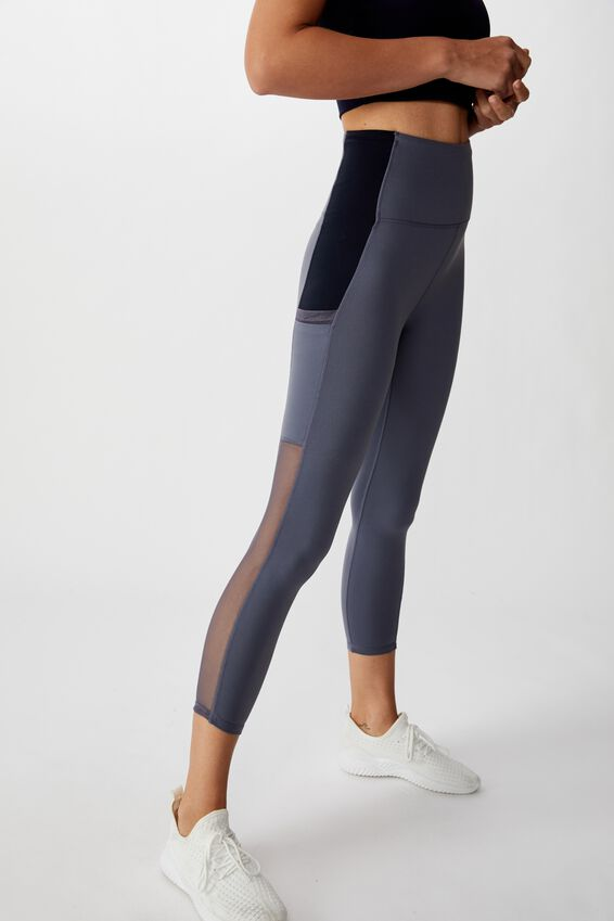 Mesh Pocket 7/8 Tight, STORM BLUE/NAVY