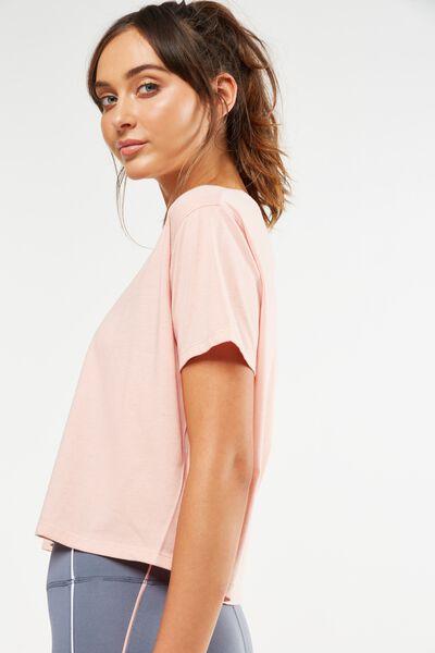 Boxy Tshirt, PETAL PINK