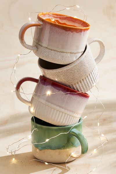 Gratitude Mug, STRAWBERRY MILKSHAKE