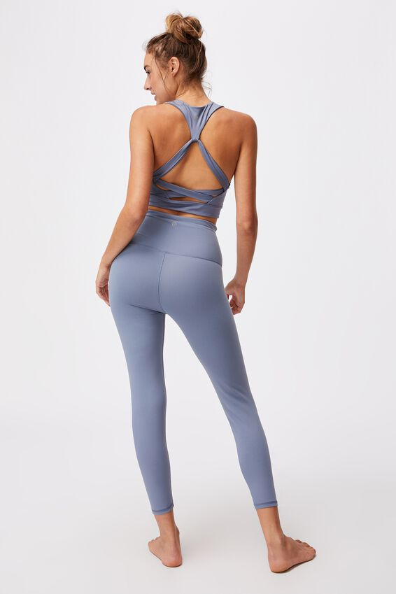 Active High Waist Core 7/8 Tight, BLUE JAY