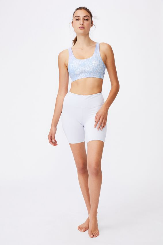 Cutout Back Crop, SEA SPRAY BALTIC BLUE