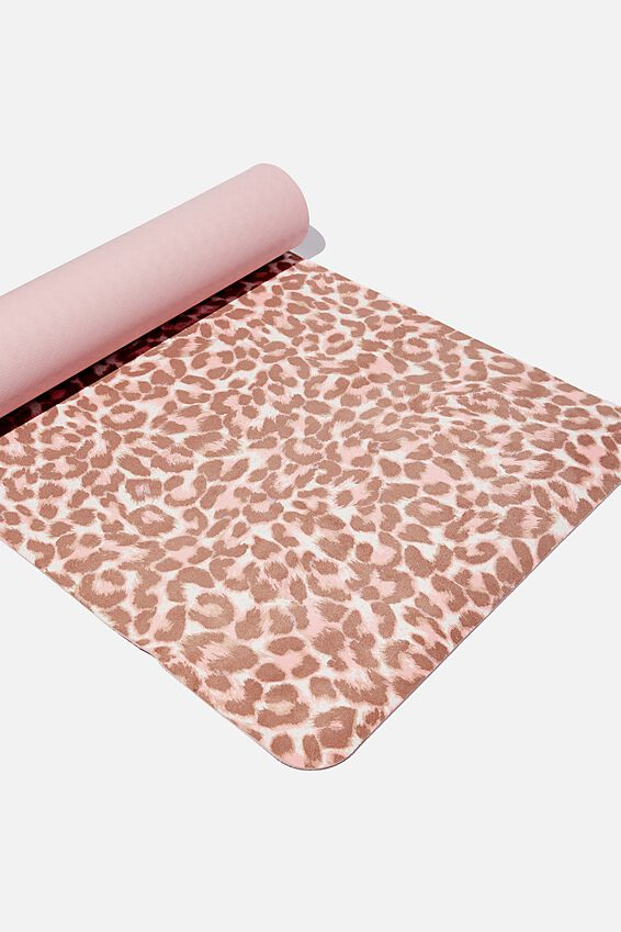 Premium Yoga Mat, LITTLE LEOPARD