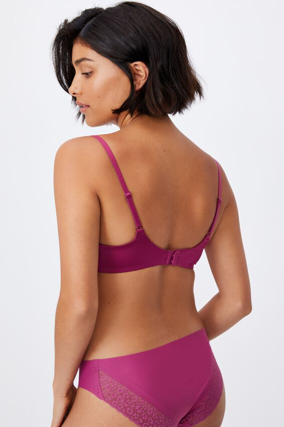 Ultimate Comfort T-Shirt Bra, RASPBERRY ORCHID