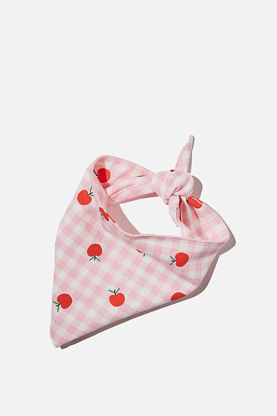 Body Buddy Pet Bandana, APPLE GINGHAM