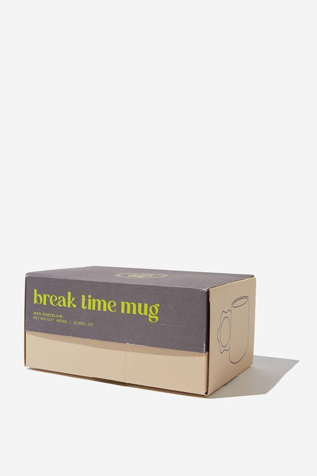 Break Time Mug, COTTON CANDY DAISY