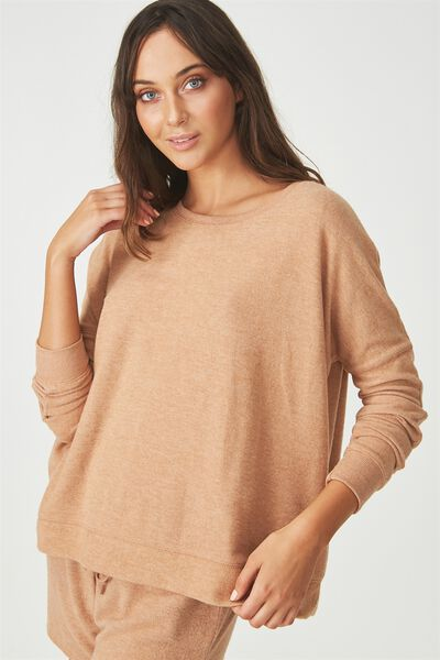 Super Soft  Lounge Top, MAPLE MARLE
