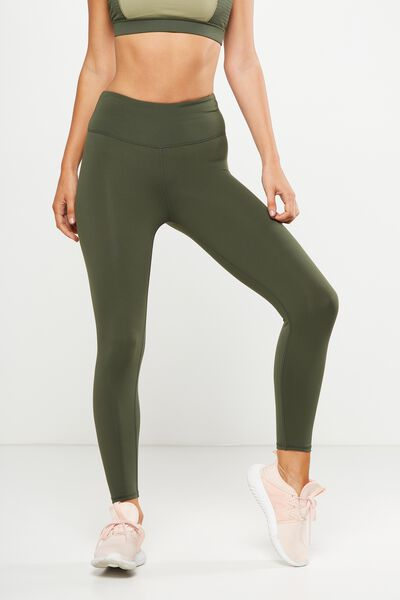 Active Core 7/8 Tight, KHAKI