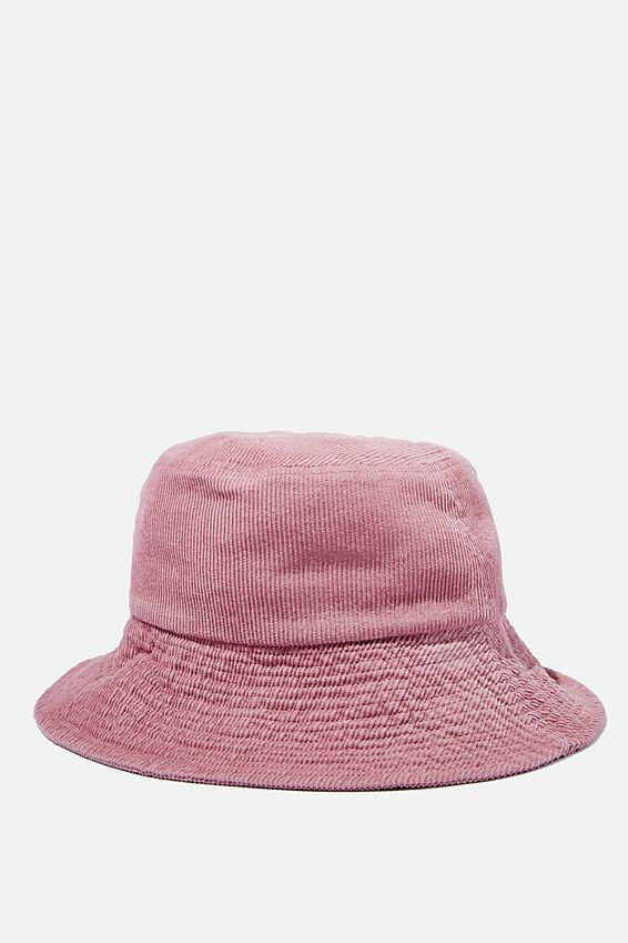 Bria Bucket Hat, BLUSH CORD