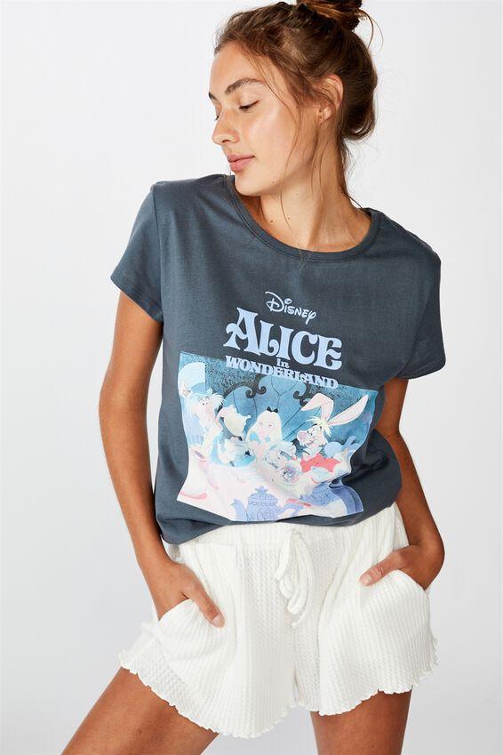 Dreamy Jersey T Shirt, LCN DISNEY ALICE