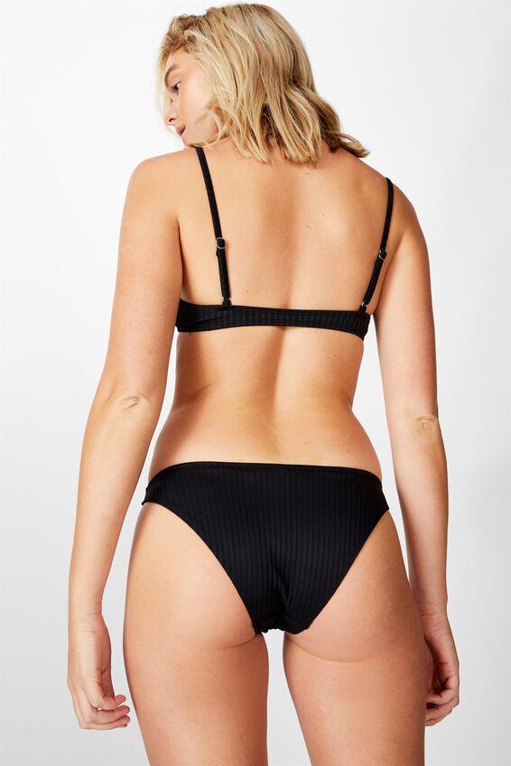 Full Bikini Bottom, BLACK RIB