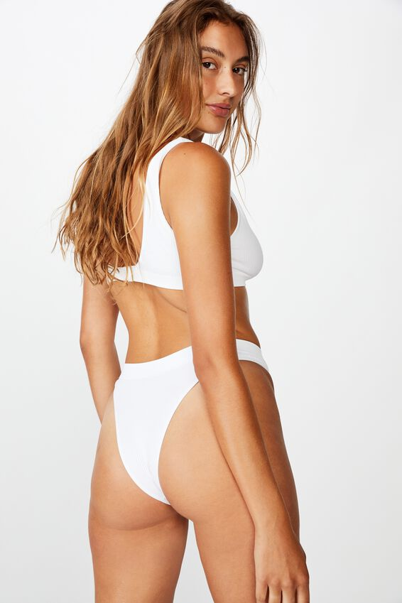 Seamless Hi Cut Brasiliano, WHITE