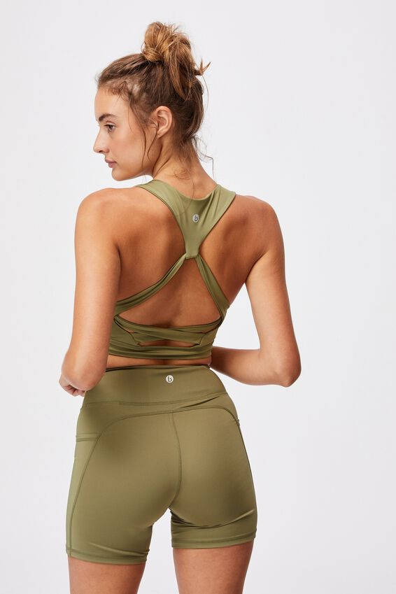 Lifestyle Loop Back Vestlette, OREGANO