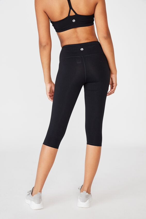 Active Core Capri Tight, BB BLACK Y