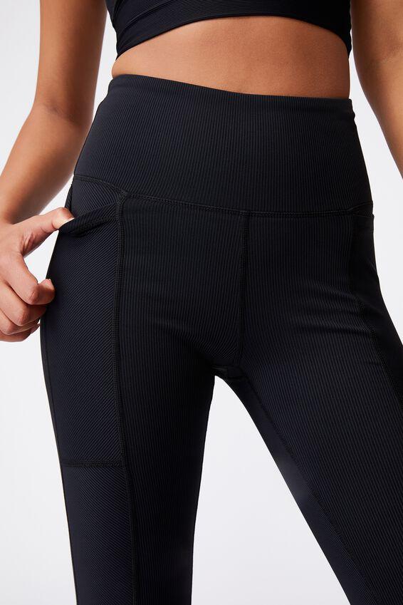 Rib Pocket 7/8 Tight, BLACK
