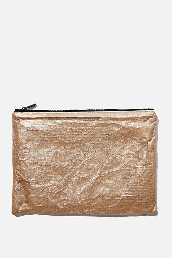 Bikini Bag, GOLD METALLIC