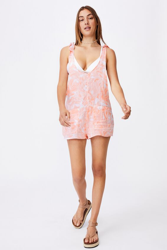 Beach Playsuit, FRUIT TINGLE TROPICAL
