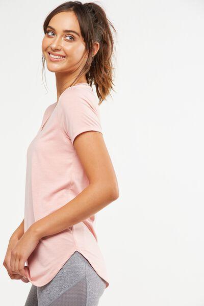 Gym T Shirt, PETAL PINK