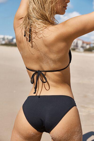 Classic Seamless Full Bikini Bottom, BB BLACK