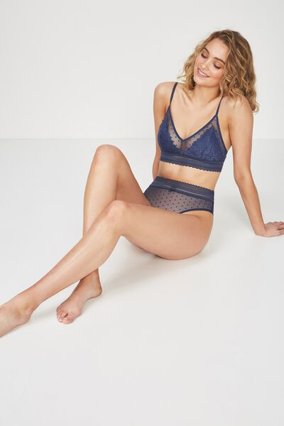 Stephanie Bralette, DARK STORM BLUE