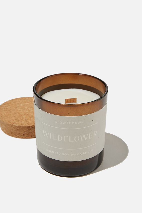 Slow It Down Candle, WILDFLOWER