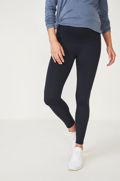 Maternity Core Tight Over Belly, NAVY