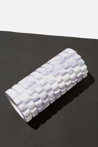 Foam Roller, CHALKY LAVENDAR SWIRL