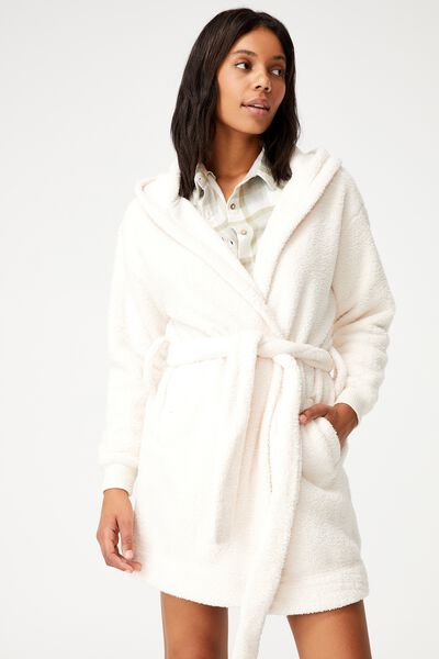 The Lounging Robe, ALMOND BUTTER