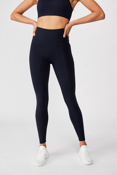 Active High Waist Core Tight, NAVY