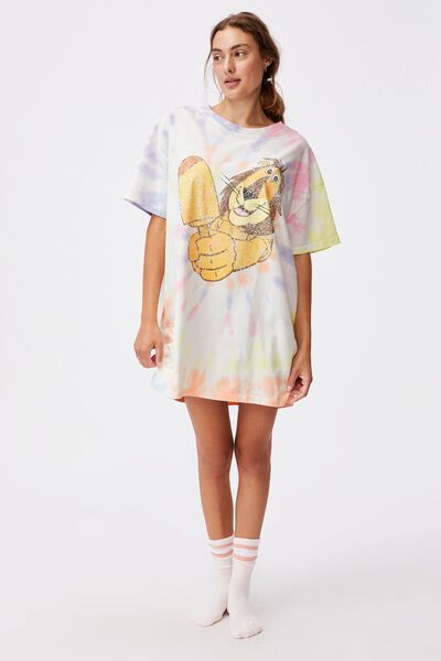 90 S Tshirt Nightie, LCN STREETS PADDLE POP LION