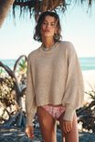 Summer Lounge Long Sleeve, NATURAL