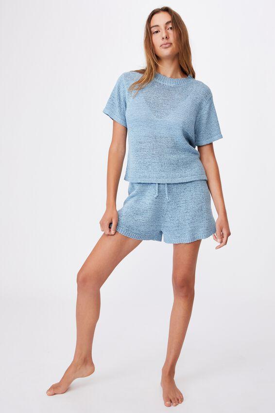 Summer Lounge T-Shirt, GLACIER BLUE