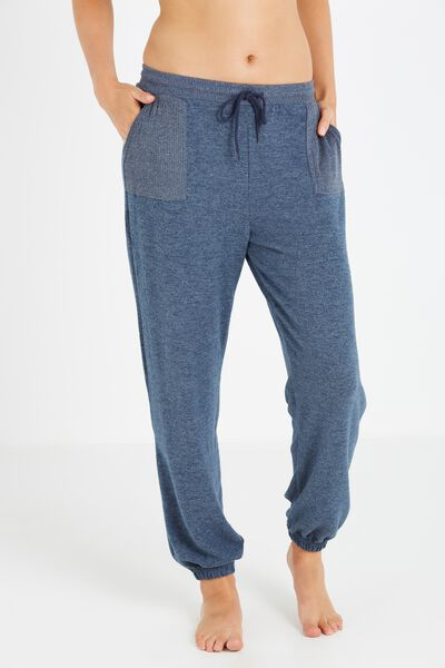 Super Soft Relaxed Track Pants, MIDNIGHT MARLE
