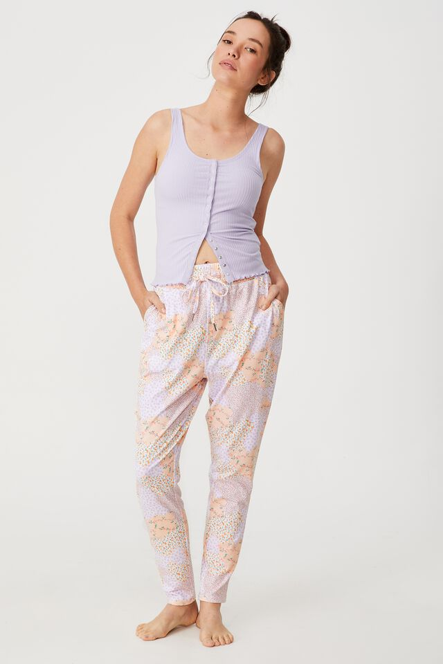The Lounge Pant, DITSY PATCHWORK