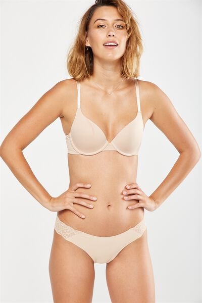 Everyday T Shirt Bra, FRAPPE