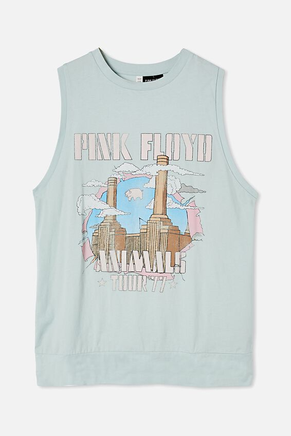 90 S Tank Nightie, LCN PER PINK FLOYD ANIMALS
