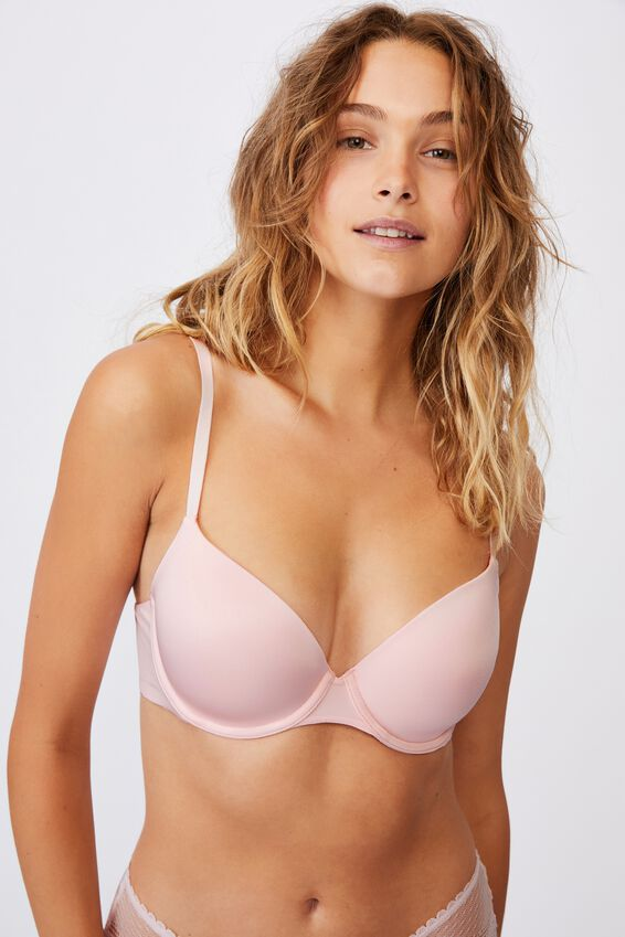 Ultimate Comfort T-Shirt Bra, PRETTY PINK