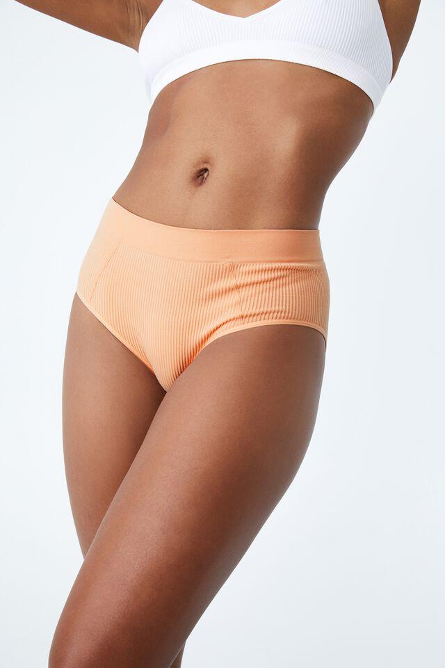 Seamfree Mumdie Bikini Brief, APRICOT ICE