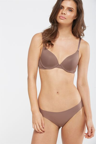 Everyday T Shirt Bra, ESPRESSO