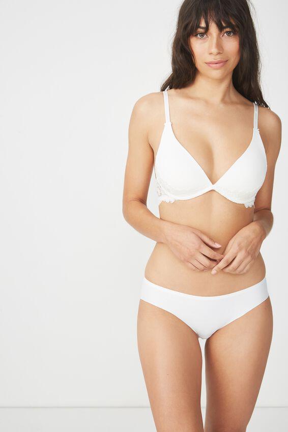 Seamless Essential Bikini Brief, CREAM