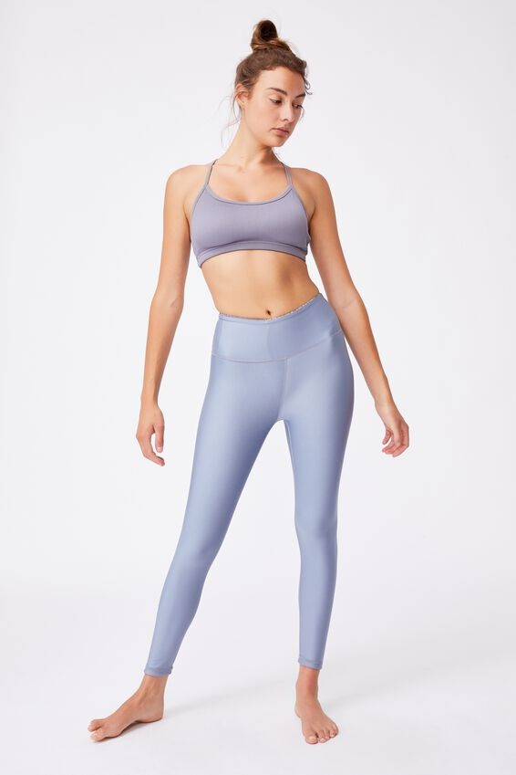 Reversible 7/8 Tight, IRREGULAR SPECK BLUE JAY/BLUE JAY