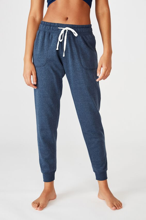 Gym Track Pants, MIDNIGHT MARLE