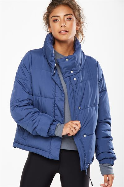 Explorer Puffer Jacket, ALPINE BLUE