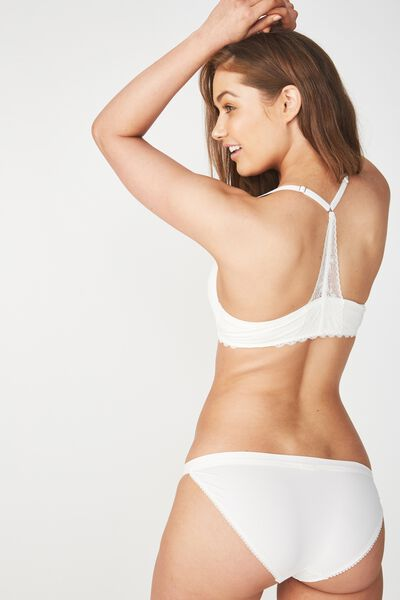 Super Soft Wirefree Lift Bra, CREAM