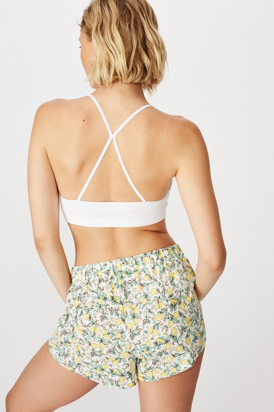 Jersey Bed Short, LEMONADE